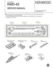 Buy KENWOOD KMD-42 Service Manual by download #148190
