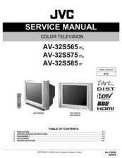 Buy JVC AV-32S575 TECHNICAL DATA by download #130568
