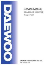 Buy DAEWOO 715BSVC Manual by download #183476