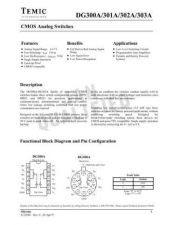 Buy INTEGRATED CIRCUIT DATA DG300 3J Manual by download Mauritron #186796