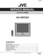 Buy JVC AV-20FD24 TECHNICAL DATA by download #130519