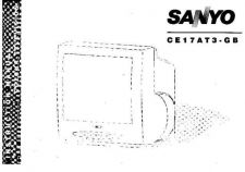Buy Sanyo CE17AT3-GB Manual by download #172896