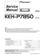 Buy PIONEER C2307 Service Data by download #148822