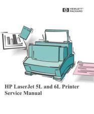 Buy HP LASERJET 5L - 6L SERVICE MANUAL by download #151309