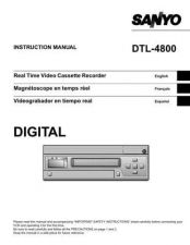 Buy Sanyo DTL-4800(MM5310173-00 11) Manual by download #174138
