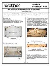 Buy Brother SU P1039 Service Schematics by download #134916