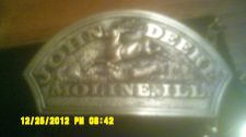 Buy 1983 Silver JOHN DEERE MOLLINE , ILL. BELT Buckle Mint Condition ORIGINAL BOX