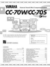 Buy Yamaha CC-70W Operating Guide User Instructions by download Mauritron