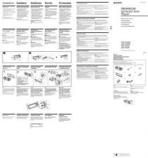 Buy SONY CDX-2500R CZ-SCREEN OPERATING GUIDE by download #166606