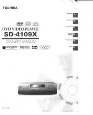 Buy Toshiba SD-P2600(E) Manual by download #172383