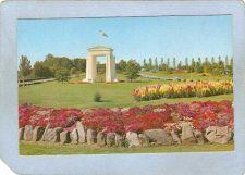 Buy CAN B C Postcard Peace Arch Memorial Border Between Blaine Wash & Douglas ~7