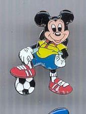 Buy Disney Mickey Mouse Soccer pro pin