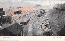 Buy Birmingham Ala. Coke Ovens Coal Cars Railroad Postcard