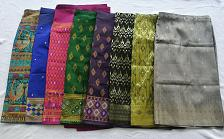 Buy Lot 8 Lao Laos Laotian Synthetic Silk Women Sinh Skirt free Expited Shipping #31