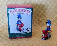 Buy Complete Set of 5 Hallmark Disney Mickey Express Figures Christmas Holiday 1998