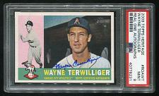 Buy 2009 TOPPS HERITAGE REAL ONE AUTO WAYNE TERWILLIGER, PSA 9 MINT (40778231)