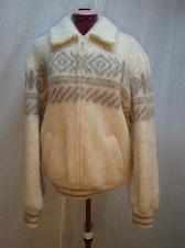 Buy Tundra Nordic Scandinavian FUZZY Wool Sweater Jacket Coat XL16 Vintage C237