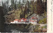 Buy Shasta Springs, Ca Shasta Route Southern Pacifc Railroad, Vintage Postcard