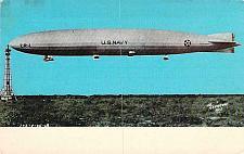 Buy U.S.S. Shenandoah , US Navy Airship Blimp Vintage Unused Postcard