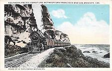 Buy Southern Pacific Coast Line Railroad San Francisco-Los Angeles Vintage Postcard