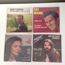 Buy LOT OF FOUR PICTURE SLEEVES VARIOUS ARTIST NO RECORDS CHECK OUT