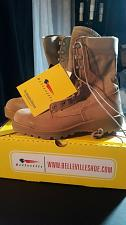 Buy BNIB Belleville 390 Hot Weather 8.5R US Military Boots NEW!