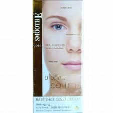 Buy Smooth E Gold Babyface Anti Aging Wrinkle Vitamin E Aloe Vera Cream 1.0 oz