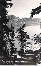 Buy Morning On Crater Lake, Oregon Real Photo Postcard RPPC