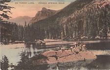 Buy On Turkey Lake, Pagosa Springs, Colorado Vintage Postcard