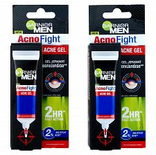 Buy Garnier Men AcnoFight Acne Gel 10g Pack of 2
