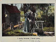 Buy I know I only Love You Vintage Romance Postcard