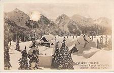 Buy Paradise Inn and Tatoosh Range Rainier Natl Park Oregon Real Photo Postcard RPPC