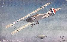 Buy British Avro Biplane Tuck's WW I War Vintage Postcard