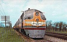 Buy Milwaukee Road EMD Locomotive Hiawatha 1956 Vintage Postcard