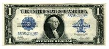 Buy 1923 ONE DOLLAR LARGE SIZE SILVER CERTIFICATE WOODS WHITE EXTRA FINE+ XF+ EF+