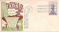 Buy Scott #799, 1937 Hawaii Territory FDC,