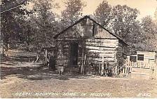 Buy Ozark Mountain Home MO, log Cabin Real Photo RPPC Unused Postcard