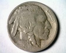 Buy 1925-S BUFFALO NICKEL FINE F NICE ORIGINAL COIN FROM BOBS COINS FAST SHIPMENT