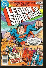 Buy LEGION OF SUPER-HEROES #259 DC Comics 1st Print #1 Key Superboy Staton Conway