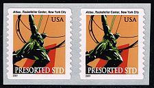 Buy US #3770 Atlas Statue-MNH pair|USA3770-13