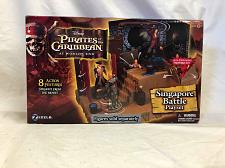 Buy Action Figure Pirates of the Caribbean Singapore Battle In Box Zizzle 2007