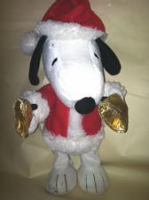 "Buy Singing Hallmark Christmas Santa Dancing Snoopy Bells Music Moves 13"""