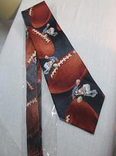 Buy M181c Norman Rockwell Saturday Evening Post Silk Necktie FOOTBALL Tie 60x4