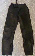 Buy FIELDSHEER PADDED LEATHER MOTORCYCLE RIDING PANTS WAIST SIZE 26 EXCELLENT