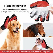Buy Hot Colors Pet Comb Pet Brush Glove Hair Removal Cat Grooming Massage Bath Brush