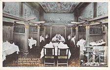 Buy Mission Cafe Los Angeles California Vintage Postcard