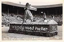 Buy Woody Woodpecker 1949 Portland Rose Festival Real Photo Vintage Postcard