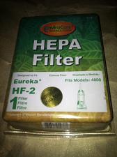 Buy Hepa Filter 938 EnviroCare Fits Models: 4800 Eureka HF-2