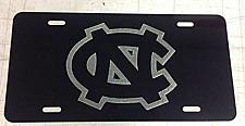 Buy Laser Engraved UNC Logo License Plate Car Tag Vanity Plate