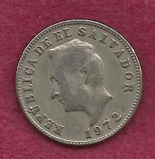 Buy EL SALVADOR 5 Centavos 1972 Coin
